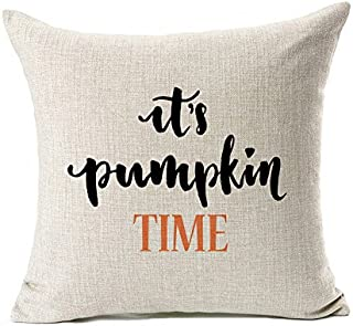18 x 18 fall pillow cover