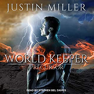 World Keeper: Precursor audiobook cover art