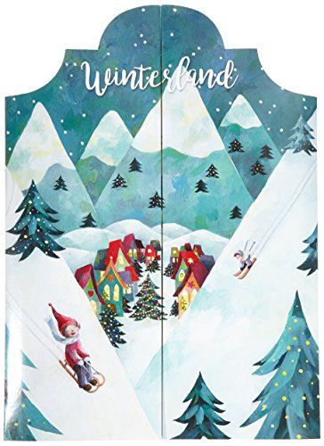 Adventskalender zum Aufklappen Winterland