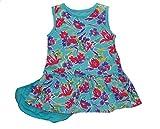 Chaps Girl's 12 Months Aqua, Torquoise Floral Dress Set