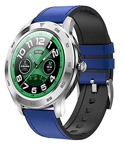 Garett Leder GT22S Smartwatch, blau