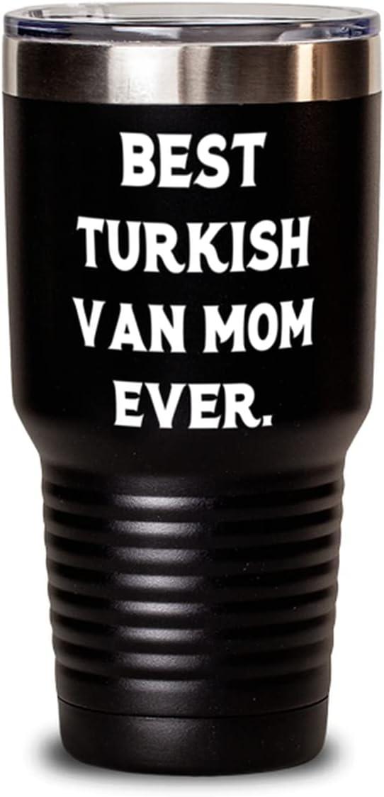 Best Turkish Van Mom Ever. Present Cat Mail order 30oz Kansas City Mall Tumbler