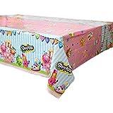 Shopkins Plastic Tablecloth, 84' x 54'