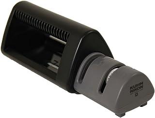 مبراة السكاكين المزدوجة من كون ريكون – 6 بوصة، أسود