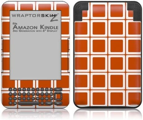 WraptorSkinz Max 49% OFF Squared Burnt Orange - Style Skin 35% OFF Amazon fits Decal
