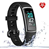 Best Activity Tracker Watches - LETSCOM Fitness Tracker HR, IP68 Water Resistant Color Review