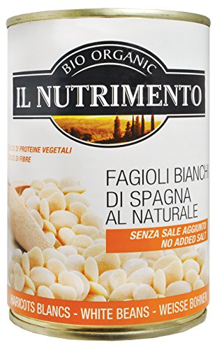 IL NUTRIMENTO Weiße Riesenbohnen - ohne Salz, 12er Pack (12 x 400 g)