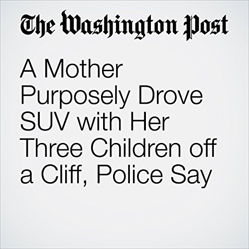 A Mother Purposely Drove SUV with Her Three Children off a Cliff, Police Say copertina