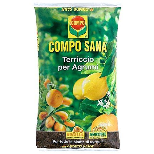 Compo Sana - Sustrato para cítricos, bolsa de 20l