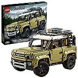 LEGO 42110 Technic Land Rover Defender, 4x4 Geländewagen, Exklusives Sammlerstück, Bauset für Fortgeschrittene - LEGO