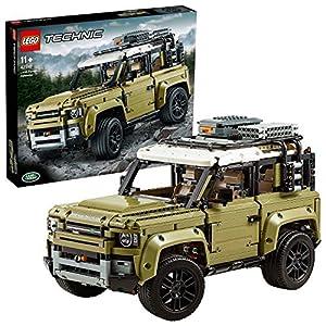LEGO Technic – Land Rover Defender, Juguete de Construcción de Coche 4×4, Maqueta del Nuevo Modelo de Todoterreno (42110)