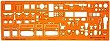 1:50 Sanitär Installation Architekt Schablone Zeichenschablone Möblierung - Innenarchitektur Technisches
