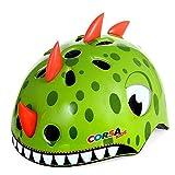 Anharluka Awesome Boys/Girls Dinosaur Safety Helmet Children Multi-Sport Helmet for Skateboard Cycling Skate Scooter Roller