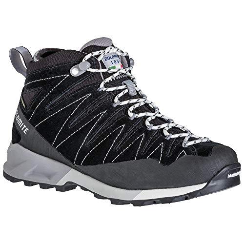 Dolomite Bota Crodarossa Trek Mid GTX WMN, Chaussure Bateau Femme, Black, 38 2/3 EU