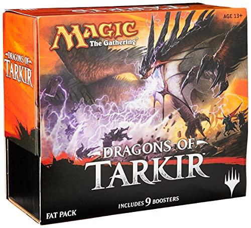 Bundle Magic:The Gathering Dragons of Tarkir Fat Pack Wizard of the Coast SUIKA