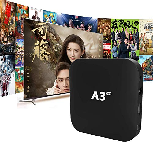 A3Pro 电视盒 IPTV Chinese 2021 全新Pro版本 A3升级版 普通话粤语频道 Massive Movies& TV Series Smart Andriod Box