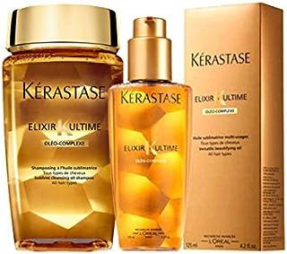 Kerastase Elixir Ultime Shampoo 250ml and Elexir Ultime Oil 125ml