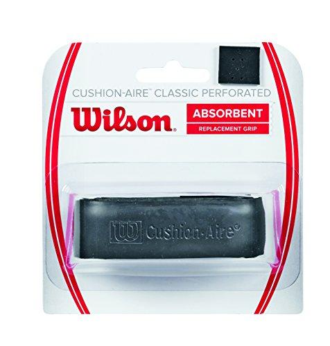 Wilson Unisex Basisgriffband Cushion Aire Classic Perforated, schwarz, 1 Stück, WRZ4210BK
