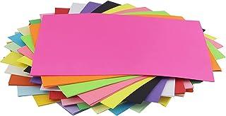 カラー用紙 共用紙 カラーコピー用紙 100枚 A4サイズ カラーペーパー コピー用紙 プリンタ用紙 折り紙 ランダムカラー