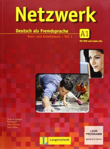 Netzwerk A1 in Teilbänden - Kurs- und Arbeitsbuch, Teil 1 mit 2 Audio-CDs und DVD: Deutsch als Fremdsprache