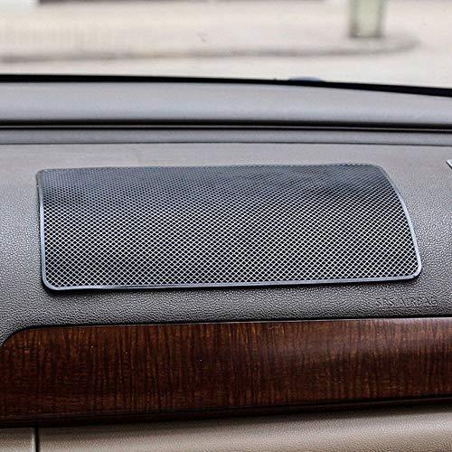 NUOMI Anti-Slip Cell Phone Car Pads & Mats 2 Pack Dashboard Sticky Non-Slip Gel Pad Universal Mat, Black