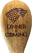 Game of Thrones inspiriert House Stark Dinner is Coming Holzlöffel