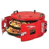 Four électrique, four turc rond électrique rouge, four marocain, four à pizza, four a pain...