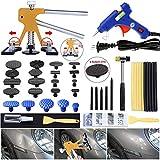 GLISTON Auto Dent Puller Kit - Adjustable Golden Dent Remover Tools Paintless...