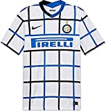 NIKE Inter M NK BRT Stad JSY SS AW T-Shirt, Hombre, White/Black Full Sponsor, L