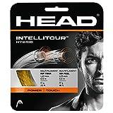 HEAD Unisex-Erwachsene Intellitour Set Tennis-Saite, Natural, 16