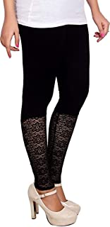 SriSaras Premium Viscose Designer Ankle Length Leggings