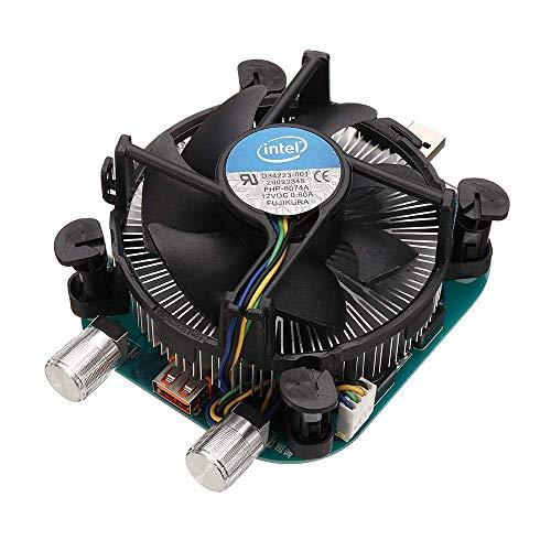 CLJ-LJ Los Controladores de medidor de Potencia móvil WEB-UL003 100W 20V 5A USB de Descarga Envejecimiento Tester Ajustable Electrónica Constante de Carga Actual