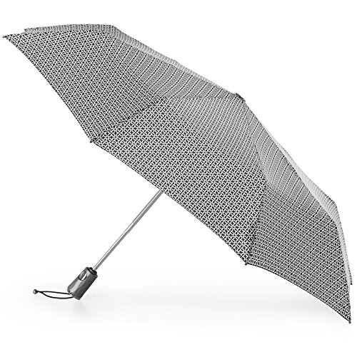 totes Titan Automatic Open Close Windproof & Water-Resistant Foldable Umbrella, Nordic Status