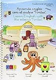 Aprendo inglés con el pulpo tintas - cuadernillo de trabajo y actividades / Editorial GEU/ Recomendado de 6-7 años/ Aprende inglés / Refuerzo