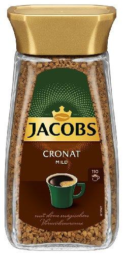 6x Jacobs - Cronat mild, Löskaffee - 200g
