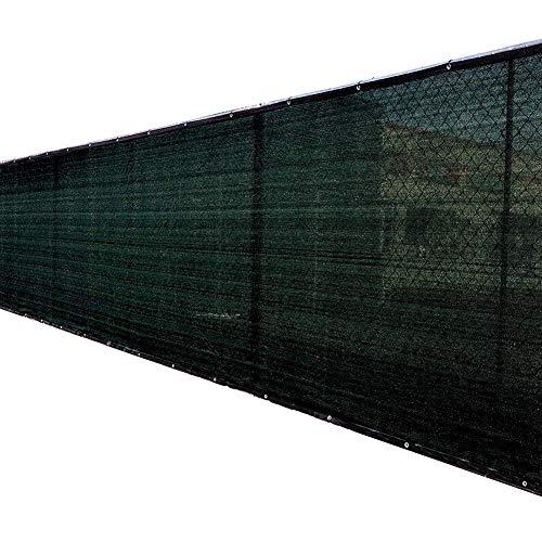 Filet d'ombrage Grand Voile/Tissu D'extérieur avec Oeillets, Panneau Pare-soleil en Maille pour Jardin/Abri D'auto/Cour, Vert (Size : 1.2×6m)