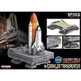 1/400 スペースシャトル ディスカバリー ブースター付 w/クローラー・トランスポーター