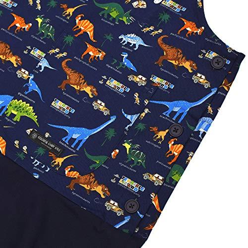 カラフルキャンディスタイル『保育士エプロン発見!探検!恐竜大陸』