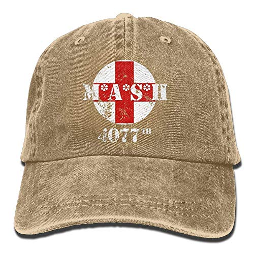 Voxpkrs MASH 4077th Unisex Baseball Cap Cowboy Hat Bill Snapback Hats ABCDE09488