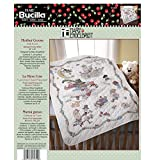 Bucilla Stamped Cross Stitch Crib Cover Kit, 34 by 43-Inch, 45359 Mary Engelbreit Mother G...