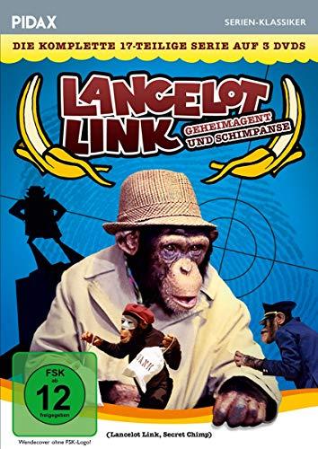 Lancelot Link - Geheimagent und Schimpanse / Die komplette 17-teilige Kultserie (Pidax Serien-Klassiker) [3 DVDs]