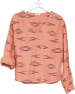Dylan by True Grit Women's Tulum Textured Linen Pullovers