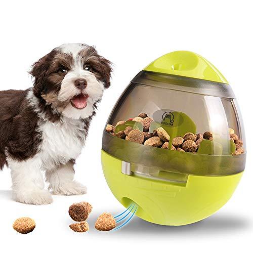 EooCoo Alimentador de Comida para Perros, Pet Slow Eating Bowl, Divertido Juguete de forrajeo para Perros, Verde