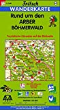 Fritsch Karten, Nr.69, Rund um den Arber, Böhmerwald (Fritsch Wanderkarten 1:50000)