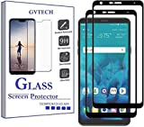 GVTECH for LG Stylo 4 Screen Protector, Full Coverage Tempered Glass Screen Protector [2.5D Round Edge][9H Hardness][Crystal Clear][Scratch Resist] for LG Stylo 4(2 Pack)