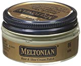 Meltonian Shoe Cream Leather Boot Polish 35 Colors 1.55 oz Jar (#086 Bone)