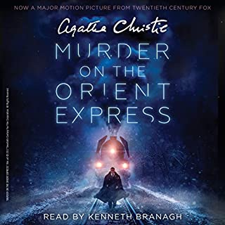 Murder on the Orient Express [Movie Tie-in]     A Hercule Poirot Mystery              By:                                                                                                                                 Agatha Christie                               Narrated by:                                                                                                                                 Kenneth Branagh                      Length: 6 hrs and 13 mins     1,321 ratings     Overall 4.7
