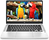 HP Chromebook 14-inch HD Touchscreen Laptop, Intel Celeron N4000, 4 GB RAM, 32 GB eMMC, Chrome (14a-na0080nr, Forest Teal)