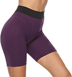 Hokny TD Women Gym High Waist Shorts Butt Lifting Yoga Leggings Shorts