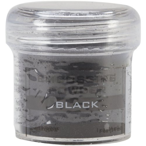 Ranger – Poudre à Embosser Noir, Acrylique, Multicolore